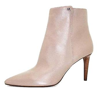 Michael Michael Kors Dorothy Flex Mid Bootie Leather Dark Dune 10