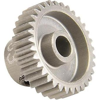 Spare part Team C TC1233 64dp 33-tooth aluminium sprocket