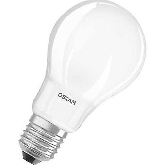 LED E27 Arbitrary 7 W = 60 W Warm white (Ø x L) 60 mm x 111 mm EEC: A+ OSRAM dimmable 1 pc(s)