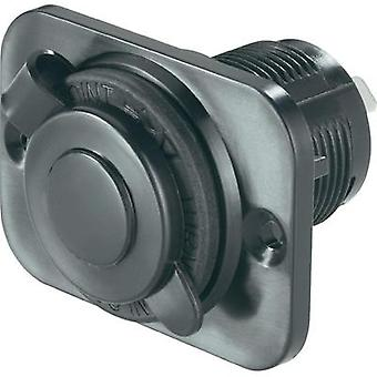 Cigarette lighter socket with protective cap