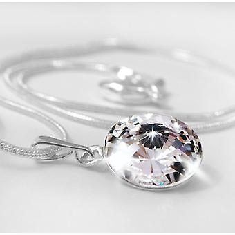Pendant necklace crystal PMB 1.4