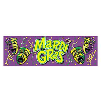 Mardi Gras Banner Sign