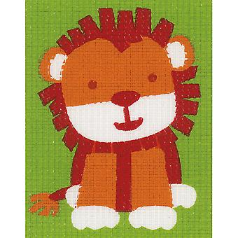 Cute Lion Canvas Kit-5