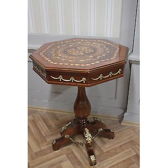 Côté baroque - table style antique oktagon MkTa0061