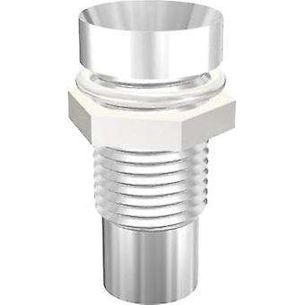 LED socket Metal Suitable for LED 5 mm Screw fixing Signal Construct SMZ1089