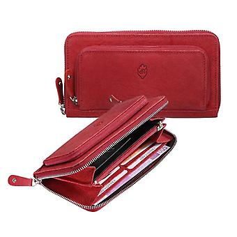 Dr Amsterdam ladies wallet Olive Red