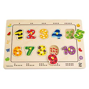 Hape Numbers Matching Puzzle