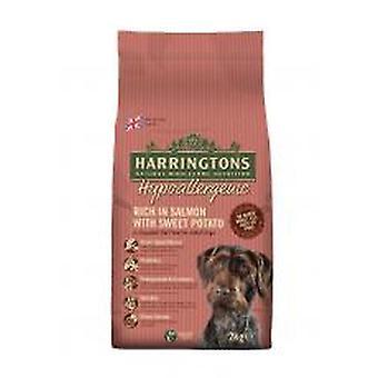Harringtons komplet hund allergivenlige laks & søde kartofler 2kg