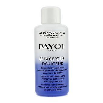 Payot Les Demaquillantes Efface Cils Douceur Instant Smooth Decongesting Cleanser For Eyes & Lips (Salon Size) 200ml/6.7oz