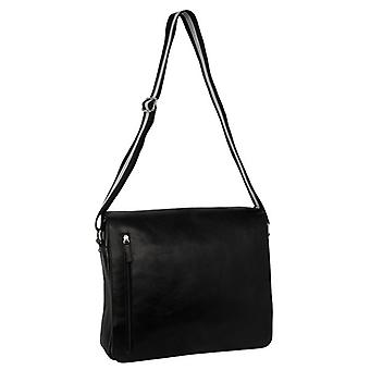 Burgmeister ladies / gents shoulder bag T213-212 leather black