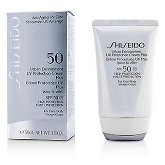 Shiseido Urban Environment UV Protection Cream Plus SPF 50 (For Face & Body) - 50ml/1.8oz