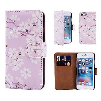 32e floral Design-boek voor Apple iPhone 7 - Cherry Blossom