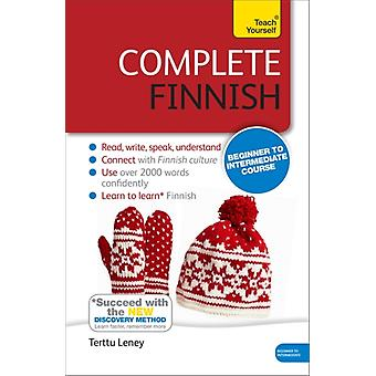 Complete Finnish Beginner to Intermediate Course: Book/CD Pack: New edition (Teach Yourself) (Paperback) by Leney Terttu