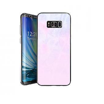 Couverture aquarelle rose pour Galaxy S8