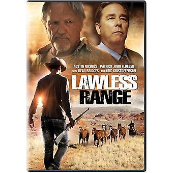 Lawless vifte [DVD] USA importerer