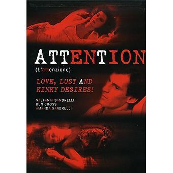 Opmærksomhed (L'Attenzione) [DVD] USA importerer