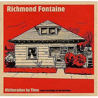 Richmond Fontaine - udslettelse af tid [CD] USA import
