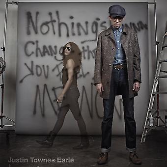 Justin Townes Earle - nada va a cambiar la importación de USA manera sientes [CD]
