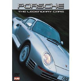 Porsche legendariske biler [DVD] USA importerer