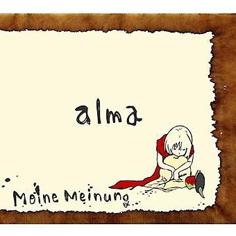 Meine Meinung - import USA Alma [CD]