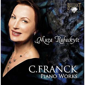 C. Franck - Franck: Importación de USA de obras de Piano [CD]