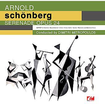 Schoenberg / Iscm Concierto Grupo / Mitropoulos - Serenata para la importación de USA de la voz de barítono y Septeto [CD]