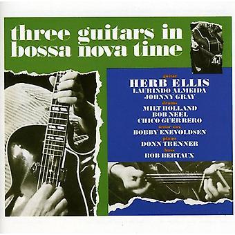 Herb Ellis - Three Guitars in Bossa Nova Time [CD] USA import