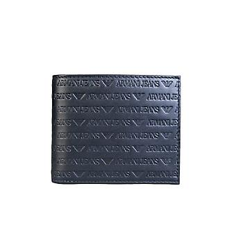 Armani Armani Jeans Bifold Wallet 3 Card Holder Slots And Coin Pouch 938540 CC999