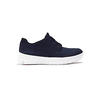 Sportief-Pop Canvas Softy Sneakers - Navy