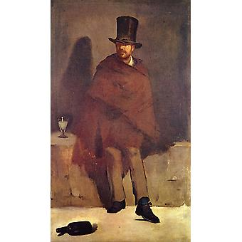 Edouard Manet - Portrait of Man Poster Print Giclee