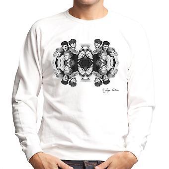 Duran Duran gespiegelt Herren Sweatshirt