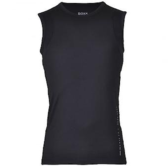 HUGO BOSS Coolmax Micro+ Tank Top, Black, X-Large