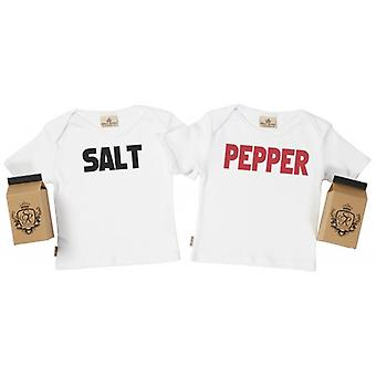 Spoilt Rotten Salt & Pepper Baby T-Shirt