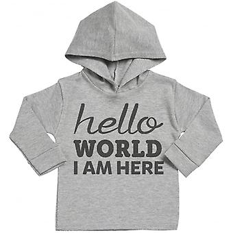 Spoilt Rotten Hello World Cotton Hoodie