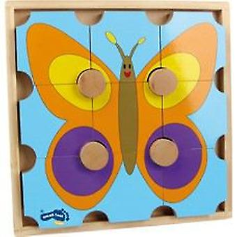 Legler Block Puzzle  Bear & Butterfly  (Toys , Preschool , Puzzles And Blocs)