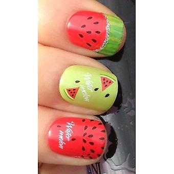 Kiss Nails Nail Art Stickers - Melon Patch Broadway (Make-up , Nails , Decoration)