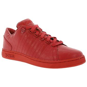 K-SWISS Lozan III TT Croco shoes men's sneakers red 05359-639-M