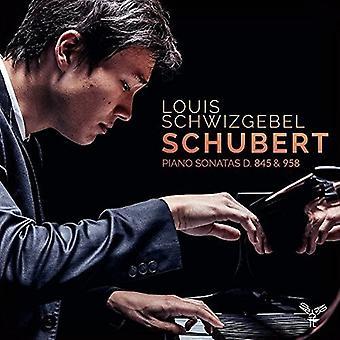 Schubert / Schwizgebel, Louis - klaver sonater D845 & D958 [CD] USA import