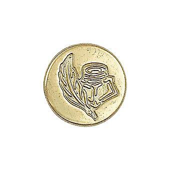Manuscript Fleur De Lys Stamping Coin
