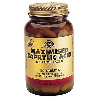 Solgar Caprylic Acid Maximized 100Tabl. (Vitamins & supplements , Special supplements)
