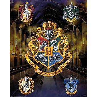 Harry Potter casa cristas Mini Poster