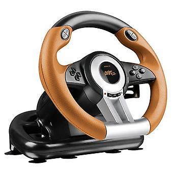 Speedlink Drift O.Z. PC Gaming Racing Wheel -  Black/Orange