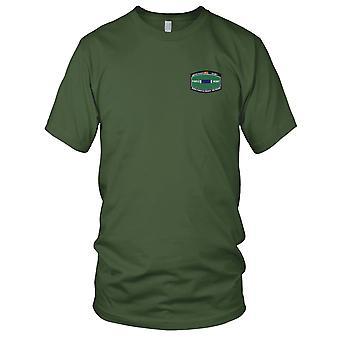 US Army - specialità professionale militare ferito combattimento MOS voto distintivo di merito militare cuore viola ricamato Patch - Iraq veterano-esercito Mens T-Shirt