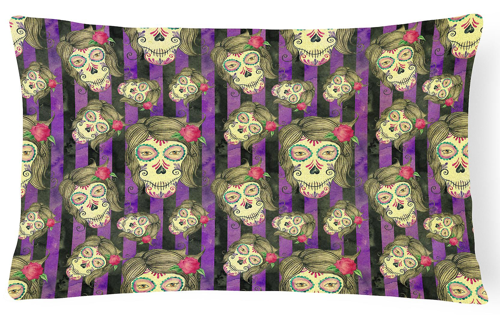 Halloween Pillow Decorative Day Canvas Fabric Of Watecolor The Dead 8wOkN0nPXZ