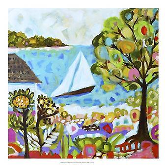 Nautical Whimsy V Poster Print by Karen Fields (20 x 20)