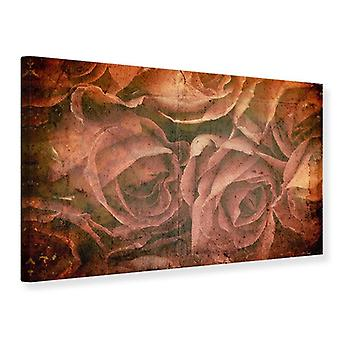Canvas Print Rose Bouquet