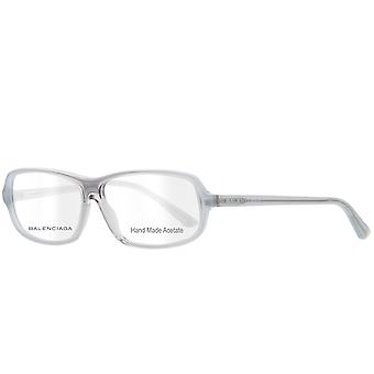 BALENCIAGA sunglasses plastic spectacle frame square gray