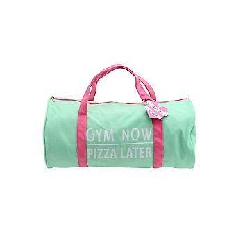CGB Giftware Gym And Tonic Gym Now Pizza Later Duffle Bag