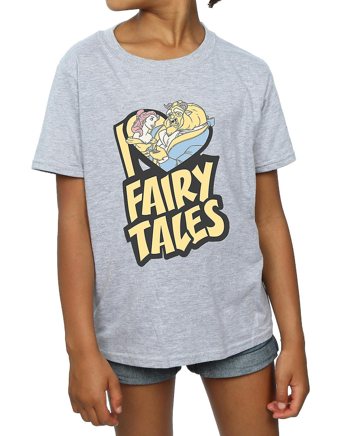 Disney Girls Beauty And The Beast I Love Fairy Tales T-Shirt