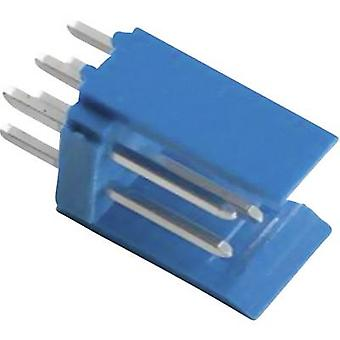 Pin strip (standard) AMPMODU HE14 Total number of pins 6 TE Connectivity 281739-3 Contact spacing: 2.54 mm 1 pc(s)